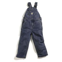 Boys' Washed Denim Bib Overall - Sizes 4-7