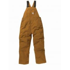 Boys' Washed Duck Bib Overall - Sizes 8-16