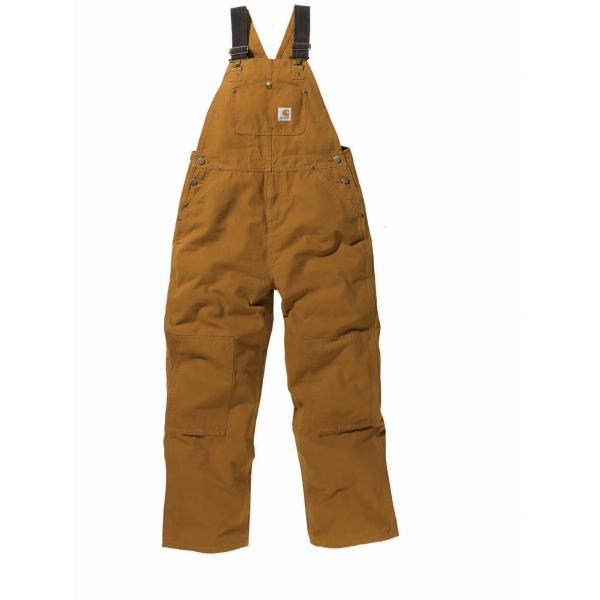 Carhartt Boys' Washed Duck Bib Overall - Sizes 8-16