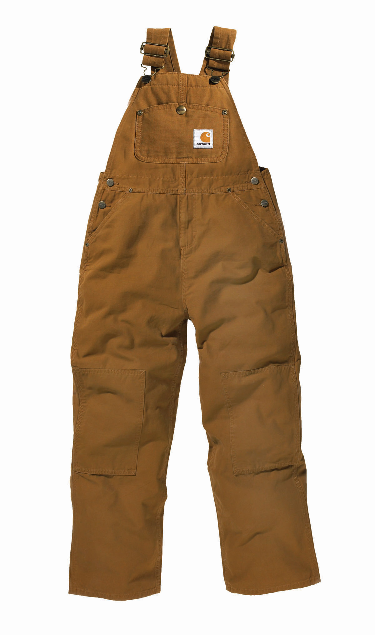 Carhartt Boys' Washed Duck Bib Overall Sizes 4 7
