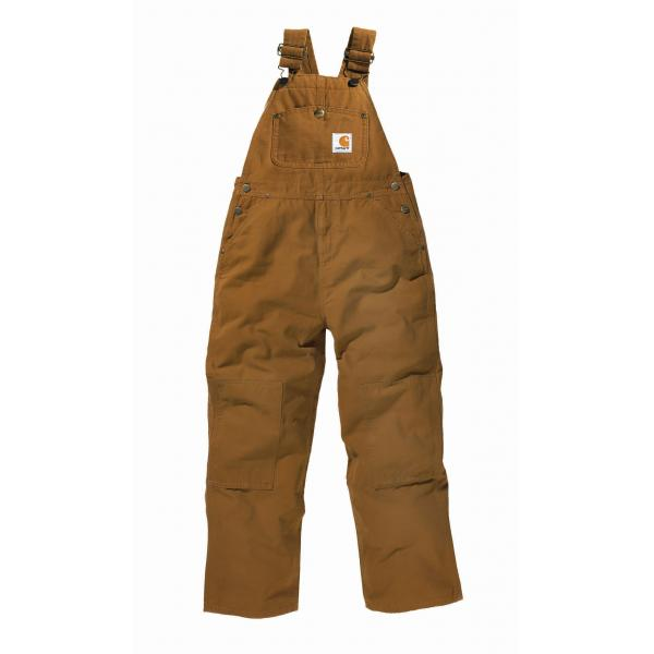 Carhartt Boys' Washed Duck Bib Overall - Sizes 4-7