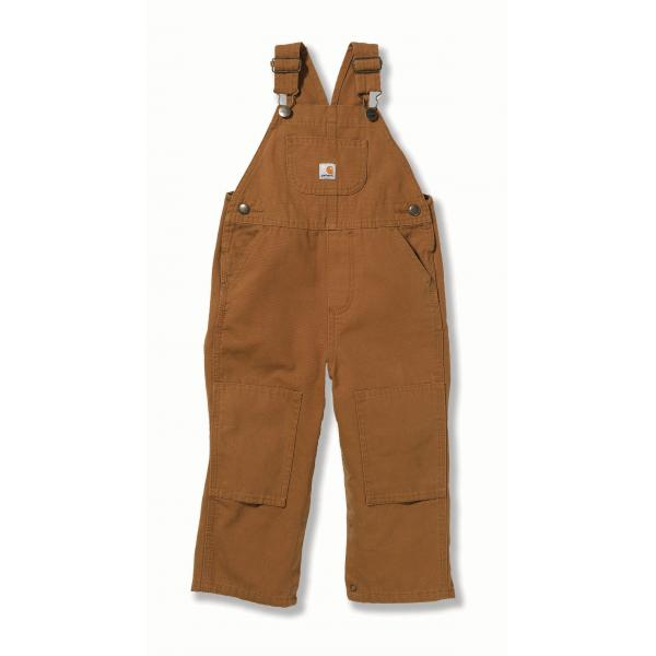 Carhartt Infant and Toddler Boys' Washed Duck Bib Overall