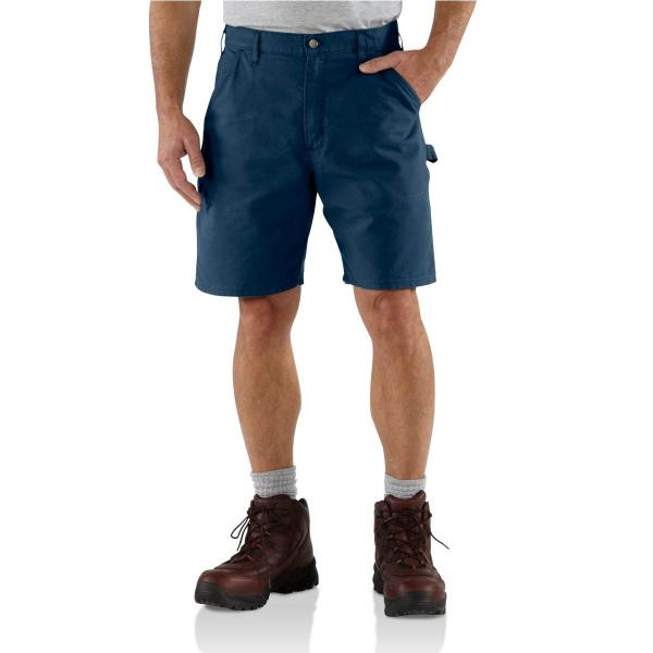 Carhartt Men's Canvas Cell Phone Work Short - 8.5 Inch Inseam - Discontinued Pricing