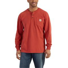 Men's Long-Sleeve Workwear Henley - Past Season - Discontinued Pricing