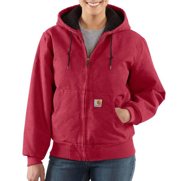 Carhartt Women's Sandstone Active Jac - Quilted Flannel Lined - Past Season