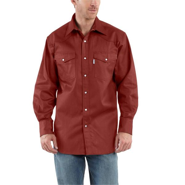 Carhartt Men's Ironwood Twill Work Shirt