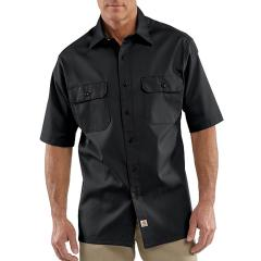 Carhartt Men's Twill Short-Sleeve Work Shirt - Discontinued Pricing
