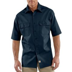 Men's Twill Short-Sleeve Work Shirt - Discontinued Pricing