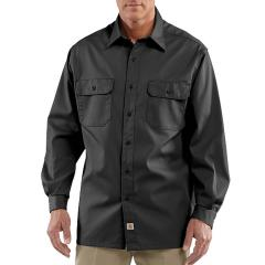 Carhartt Men's Twill Long-Sleeve Work Shirt