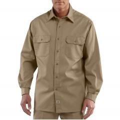 Men's Twill Long-Sleeve Work Shirt