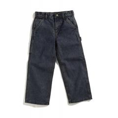 Infant and Toddler Boys' Washed Denim Dungaree