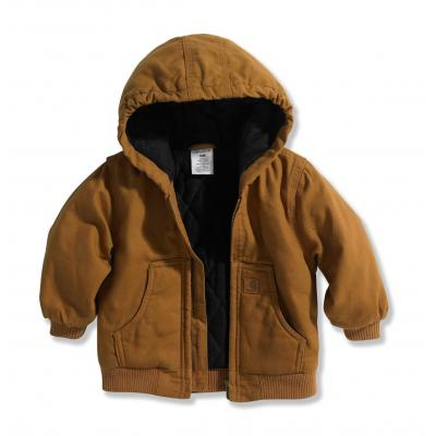 07daa5e63 Carhartt Infant and Toddler Boys  Active Jacket - Quilted Flannel Lined