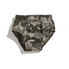 Infant Boys' Washed Camo Diaper Cover