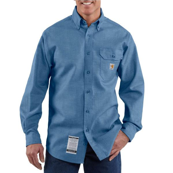 Carhartt Men's Flame-Resistant Chambray Shirt