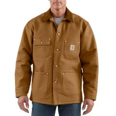 Men's Duck Chore Coat - Blanket Lined