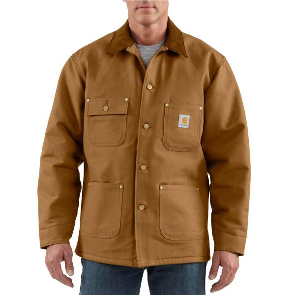 Carhartt Men's Duck Chore Coat - Blanket Lined