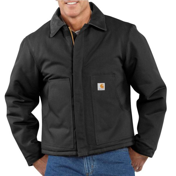 Carhartt Duck Traditional Jacket - Arctic-Quilt Lined - Discontinued Pricing