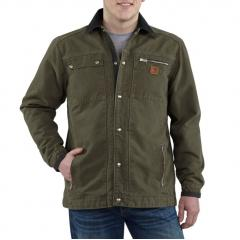 Sandstone Multi-Pocket Jacket - Quilt Lined Closeout Price