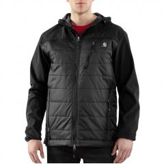Men's Soft Shell Hybrid Jacket - Closeout Pricing