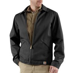 Carhartt Men's Blended Twill Work Jacket - Midweight Quilt Lined