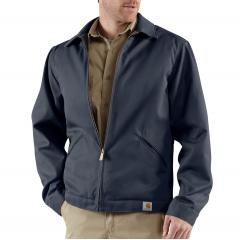 Men's Blended Twill Work Jacket - Midweight Quilt Lined