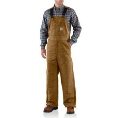 Men's Flame-Resistant Midweight Bib Overall - Quilt Lined