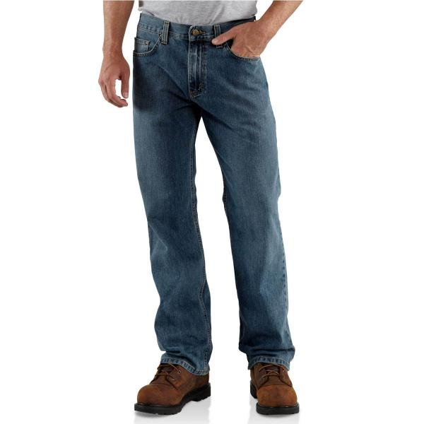Carhartt Men's Loose-Fit Straight-Leg Jean