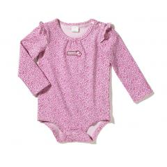 Infant Girls' Flutter Sleeve Bodyshirt