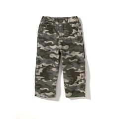 Infant and Toddler Boys' Washed Camo Dungaree