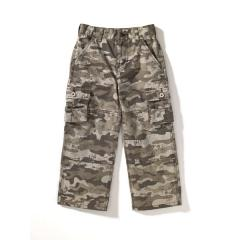 Boys' Camo Washed Cargo Pocket Pant
