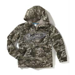Boys' Camo Logo Fleece Zip Front Sweatshirt - Sizes 4-20