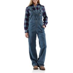 Women's Denim Bib Overall - Unlined