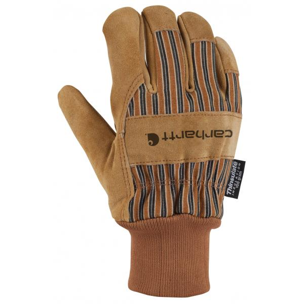 Carhartt Men's Suede Work Glove - Knit Cuff