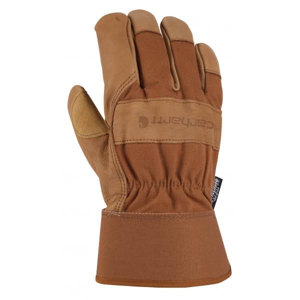 Carhartt Men's Insulated Grain Leather Work Glove - Safety Cuff