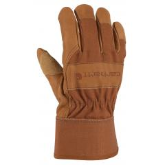 Men's Grain Leather Work Glove - Safety Cuff