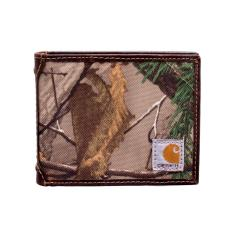 Men's Camo Canvas Passcase Wallet