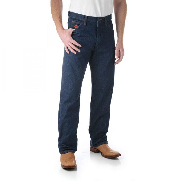 Wrangler Men's Cowboy Cut Jean Relaxed Fit Flame Resistant