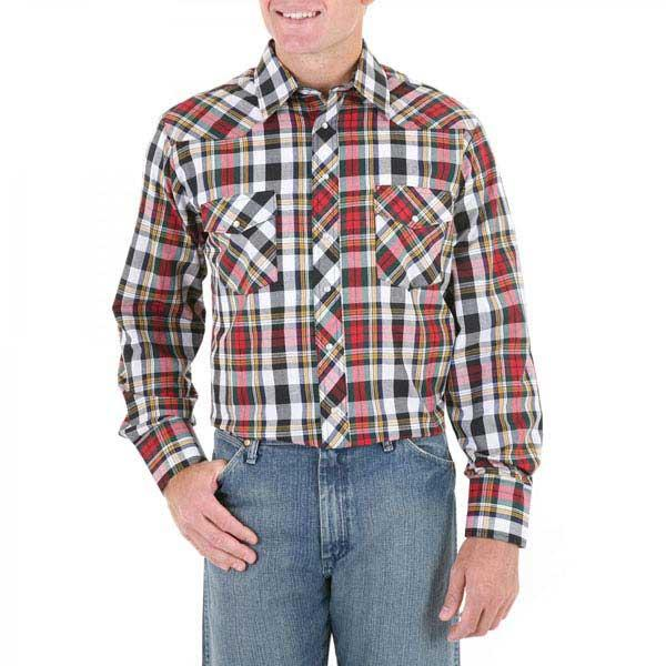 Wrangler Men's Big and Tall Sport Western Shirt