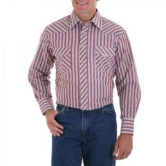 Men's Western Striped or Plaid Sport Shirt