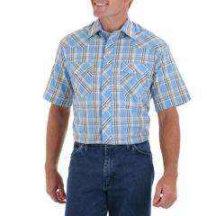 Men's Dress Basics Plaid Cowboy Cut