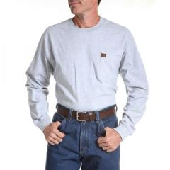 Wrangler Men's Riggs Workwear Long Sleeve Pocket T-Shirt
