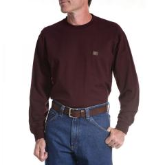 Men's Riggs Workwear Long Sleeve Pocket T-Shirt