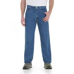 Men's Rugged Wear Relaxed Fit Stretch Jean