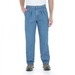 Men's Rugged Wear Indigo Denim Angler Pant