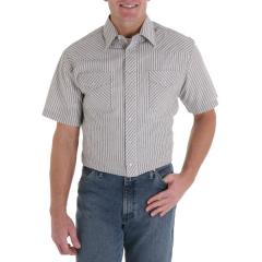 Men's Short Sleeve Stripe Shirt