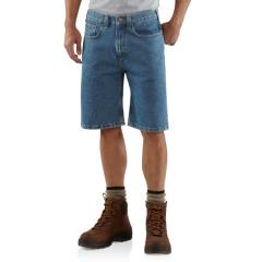Men's Five-Pocket Denim Short - 10.5 Inch Inseam