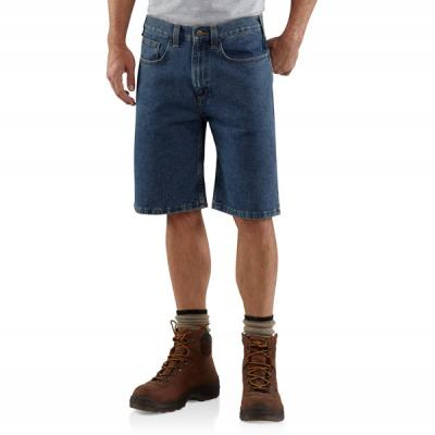 Carhartt Men's Five-Pocket Denim Short - 10.5 Inch Inseam