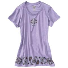 Women's Short-Sleeve Bandana Border T-Shirt