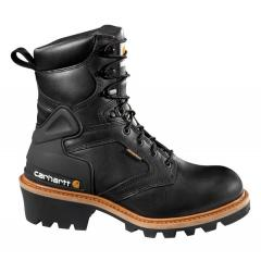 "Men's 8"" Waterproof Logger Boot - Steel Toe"