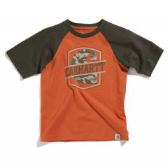 Boys' Colorblock Raglan Tee - Sizes 4-20